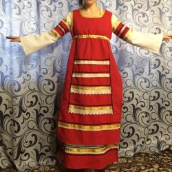 Stage costume, Russian folk.