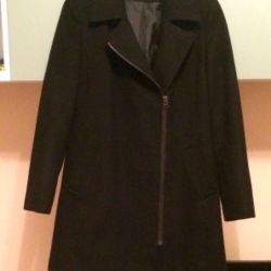 Coat negru demi-sezon MARKS & SPENSER