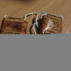 Славянский оберег из бересты ( шаркунок ).?♀️
