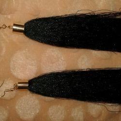 Σκουλαρίκια Βούρτσες
