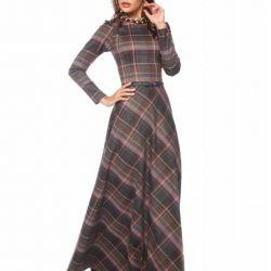 Çarpıcı uzun elbise ❤️🙈🍂🍁