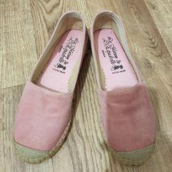 Bale ayakkabıları. mokasen