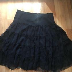 Chiffon elegant skirt size 46-48 on the lining