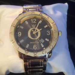 Часы женские pandora золото