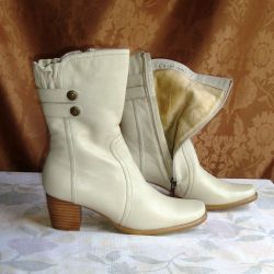 Boots zhen.38 Full calf Genuine leather