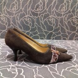 Suede shoes, 36r