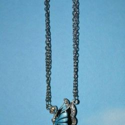New chain with butterfly