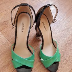 Sandals are shoe-lined 1 time, nat.kozha, 39r