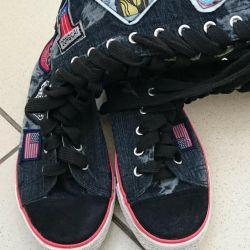 Sneakers high p 36.5 - 37