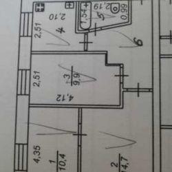 Квартира, 3 кімнати, 53 м²