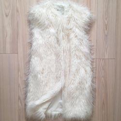 Νέο γιλέκο γούνας