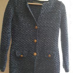 Chanel tarzı örme ceket