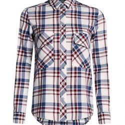Checkered shirt for the girl