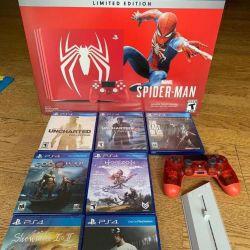 Sony PlayStation 4 pro Spider-Man Edition
