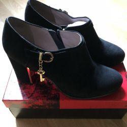 Αγκώνας μπότες Nat Suede
