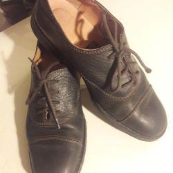 Ботинки кожа 33 размер Италия