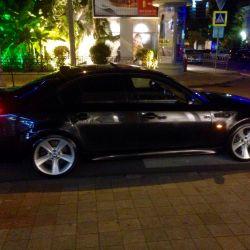 BMW E60 550 ayrıştırıldı