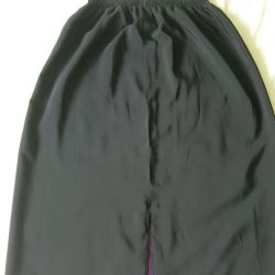 Women's skirt, Double-sided !, size 48-50, satin