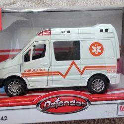 New ambulance car