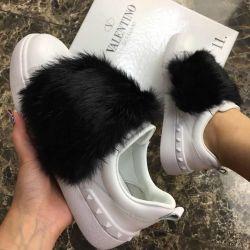 Valentino με γούνα κουνελιού