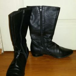 Leather boots 37