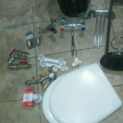 Faucets and Danfus faucets. Machine