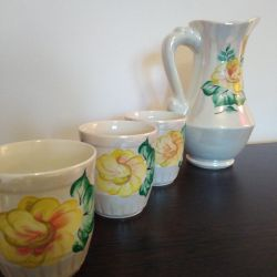 Chic tableware set from the USSR