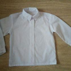 Λευκό πουκάμισο 110-116