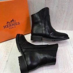 Hermès δερμάτινες μπότες