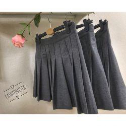Burberry Pleated Skirt New