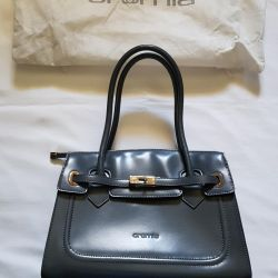 Italy Cromia bag natural leather new