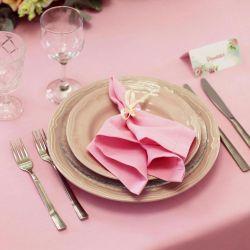 Ροζ πετσέτα για γάμο προς πώληση