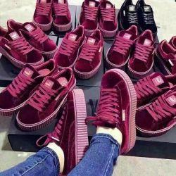 Puma Velor 36/37 Spor Ayakkabıları