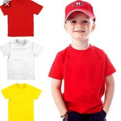 Solid Cotton T-Shirts
