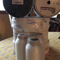 Curtain tape, kapron thread