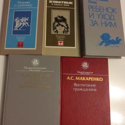 Books on parenting, training, children's health