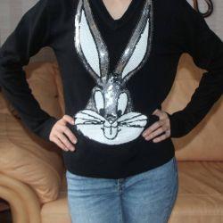 Джемпер пуловер Бакс Банни Дисней