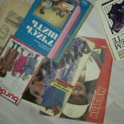 Books and magazines on sewing