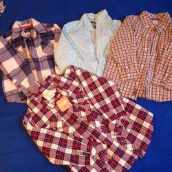 Рубашки (р.104/110)