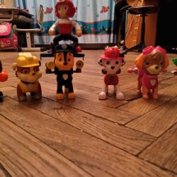 Paw Patrol 7 characters