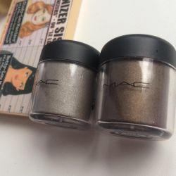 Shadows pigments mac