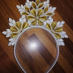Handmade crown new for the holiday