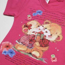 Beautiful T-shirt with cute bears 98, 104. New