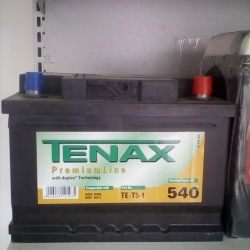 TENAX 60AH 540A Battery New