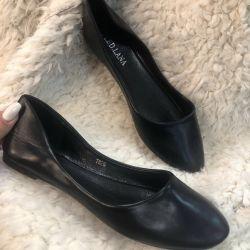 Παπούτσια μπαλέτου, μαύρα παπούτσια
