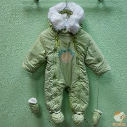 Transforming overalls 2 in 1 winter