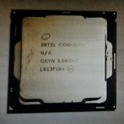 Процессор Intel I7 7700 ES Quad Core восьмипоточны