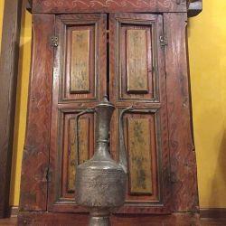 Oriental antique handmade jug - Kumgan