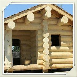 Деревянный сруб бани