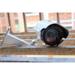 Dummy outdoor surveillance camera